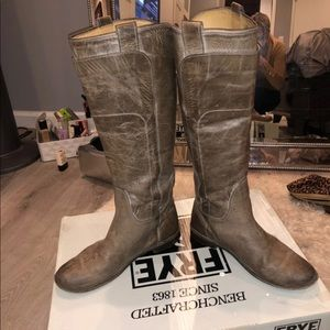 Frye tall Paige boots